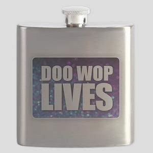 Doo Wop Lives Flask