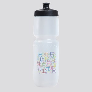 Pieces of Pi Sports Bottle