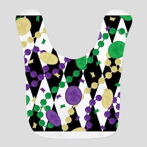 Mardis Gras Beads Bib