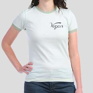Women's Jr. Ringer T-Shirt - Cow Milk