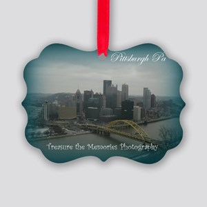 Pittsburgh Pa Picture Ornament