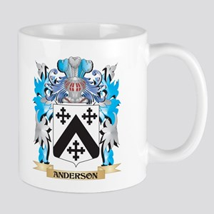 Anderson Coat Of Arms Mugs