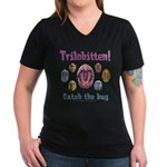 Trilobite Wmns V-Neck Dk Tee