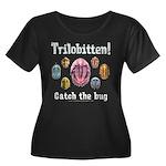 Trilobite Wmns Plus Sz Scoop Neck Dk Tee