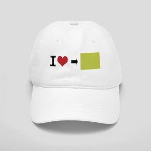 Customize Photo I heart Baseball Cap