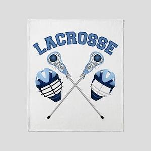 Lacrosse 1 Throw Blanket