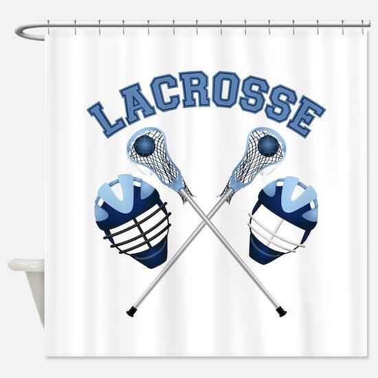 Lacrosse 1 Shower Curtain
