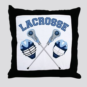 Lacrosse 1 Throw Pillow