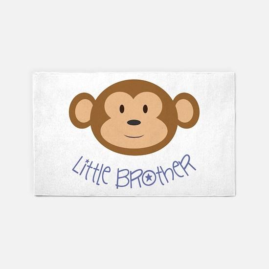 Little Brother Monkey 3'X5' Area Rug