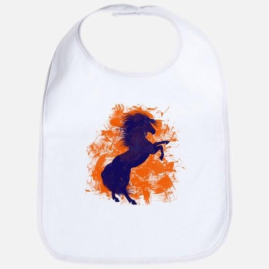 Denver Bucking Broncos Horse Bib