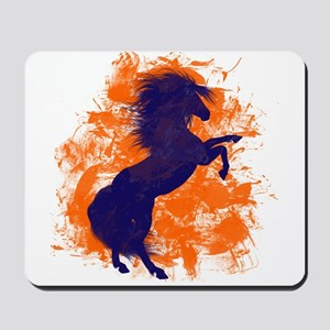 Denver Bucking Broncos Horse Mousepad