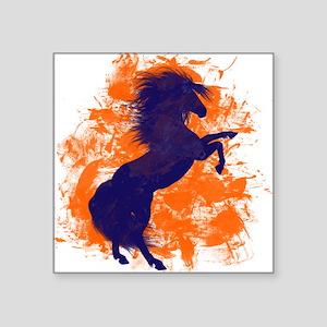 Denver Bucking Broncos Horse Sticker