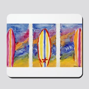 Surfboards Mousepad