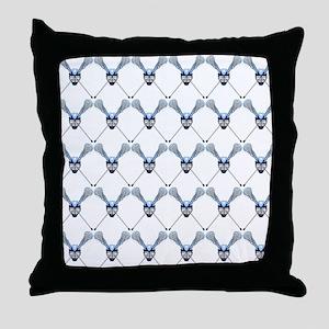 Lacrosse 2 Throw Pillow