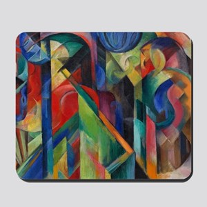 Stables by Franz Marc Mousepad