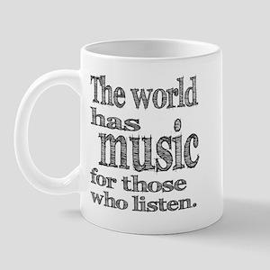 The World has Music Mug