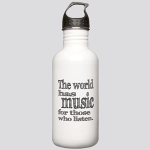 The World has Music Stainless Water Bottle 1.0L