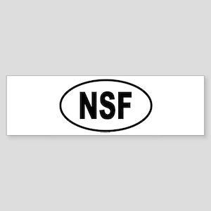 NSF Bumper Sticker