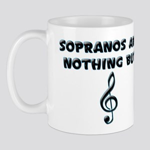 Sopranos are Treble Mug