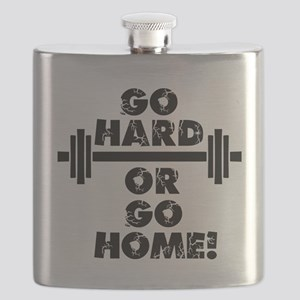 Go Hard or Go Home Flask