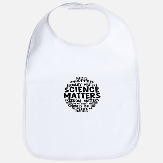 Science Matter Bubble Baby Bib