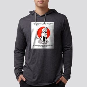 Pavlov's Dog Schrodinger's Cat Long Sleeve T-Shirt