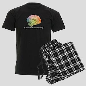 Celebrate Neurodiversity Men's Dark Pajamas