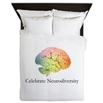 Celebrate Neurodiversity Queen Duvet