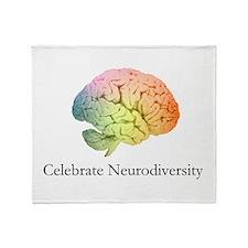 Celebrate Neurodiversity Throw Blanket