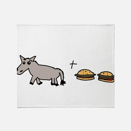 assburgers.png Throw Blanket