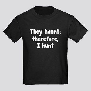 Ghost Hunter's Philosophy Kids Dark T-Shirt