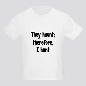 Ghost Hunter's Philosophy Kids Light T-Shirt