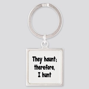 Ghost Hunter's Philosophy Square Keychain