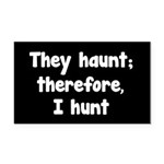 Ghost Hunter's Philosophy Rectangle Car Magnet