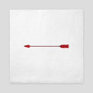 Red Arrow Queen Duvet