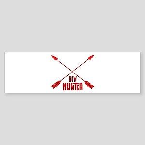 BOW HUNTER Bumper Sticker