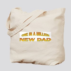 One In A Million New Dad Tote Bag