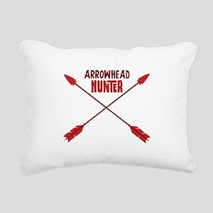ARROWHEAD HUNTER Rectangular Canvas Pillow