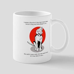 Pavlov's Dog Schrodinger's Cat Mugs