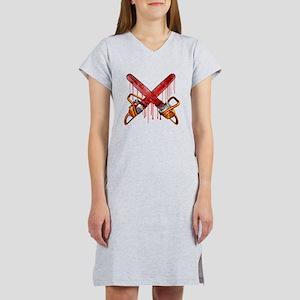 Bloody Chainsaws Women's Nightshirt
