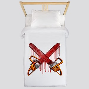Bloody Chainsaws Twin Duvet
