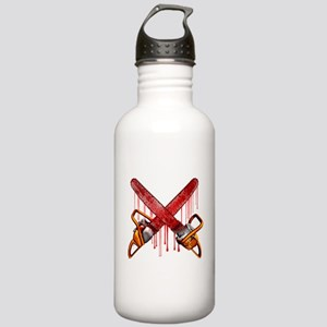 Bloody Chainsaws Water Bottle