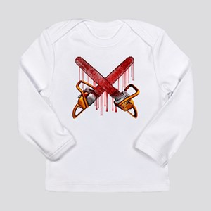 Bloody Chainsaws Long Sleeve T-Shirt