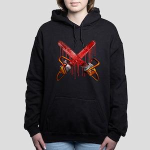 Bloody Chainsaws Hooded Sweatshirt