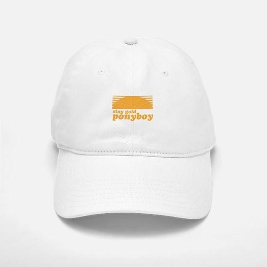 """Stay Gold Ponyboy"" [The Outs Baseball Baseball Cap"