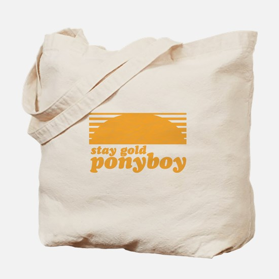 """Stay Gold Ponyboy"" [The Outs Tote Bag"
