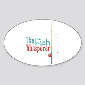 The Fish Whisperer Sticker