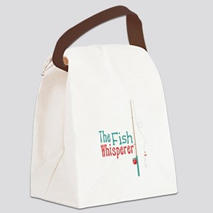 The Fish Whisperer Canvas Lunch Bag