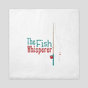 The Fish Whisperer Queen Duvet