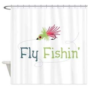 Fishing Line Shower Curtains